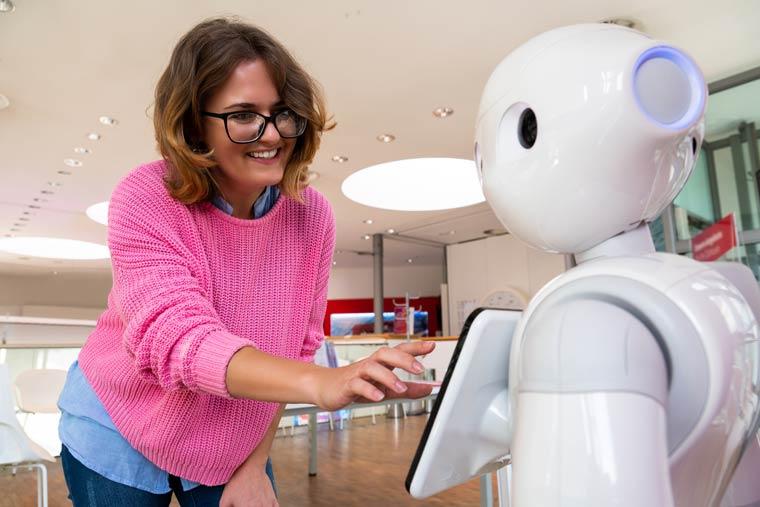Roboter im Krankenhaus