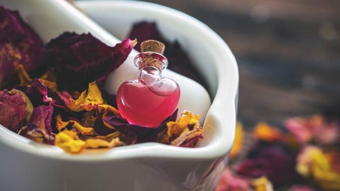 Rosenöl Aromatherapie