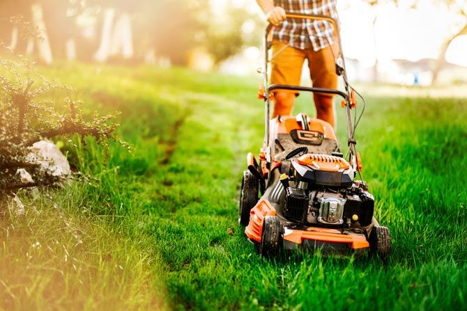 Ruhezeiten beim Rasen mähen