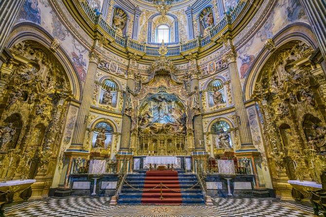 Die Privatkapelle Sacra Capilla del Salvador