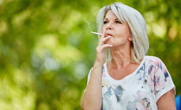 Schadstoffe beschleunigt das Altern