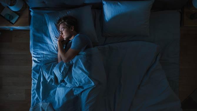 Schlafzimmer - lärmgeschützt und dunkel