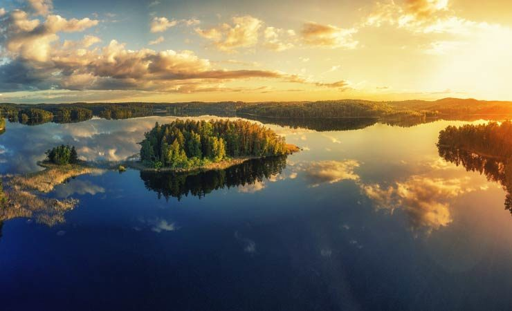 Schwedens beeindruckende Seenlandschaft