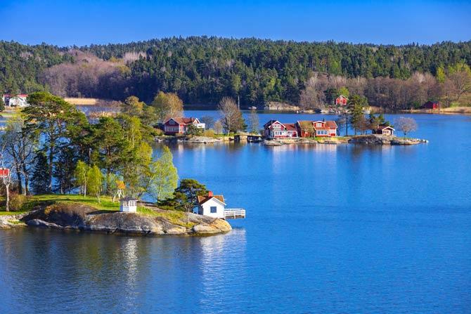 Schwedische Landschaften