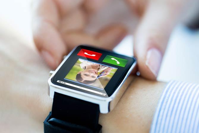 Smartwatch Anrufe