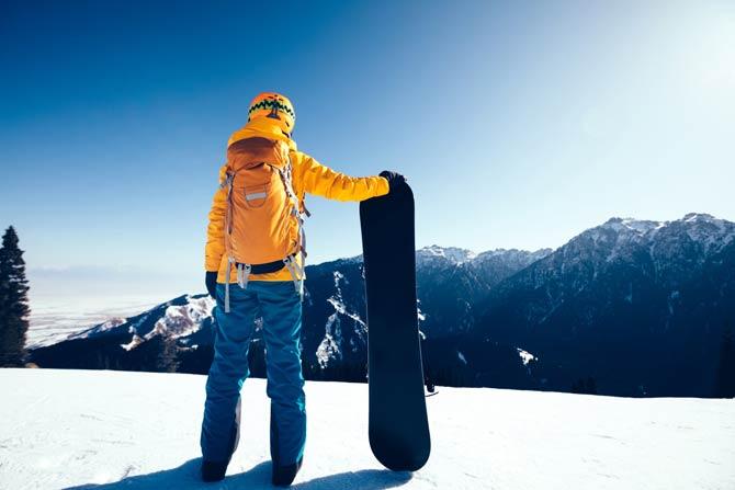 Snowboard Rucksack