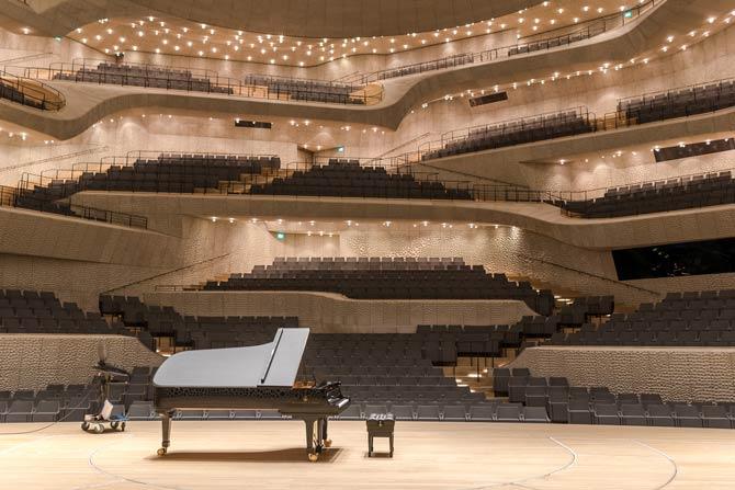 Sommerprogramm der Elbphilharmonie in Hamburg