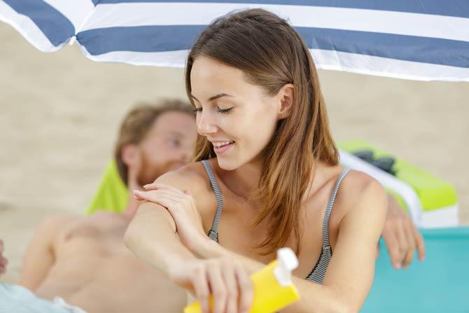 Sonnenschutz - Tag am See