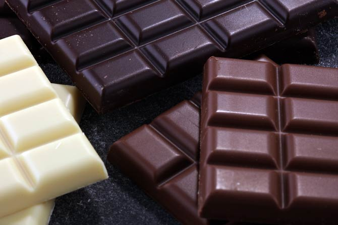 Schokoladensorten
