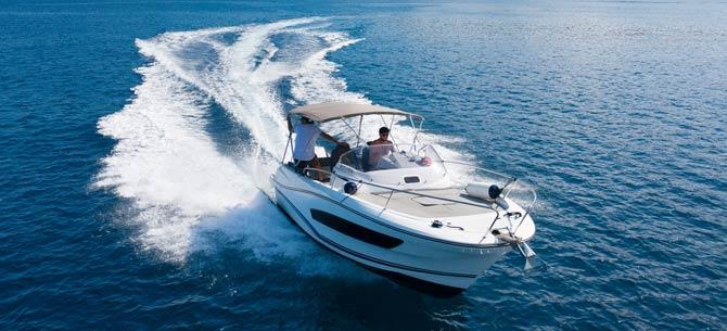 Speedboot Fahrt