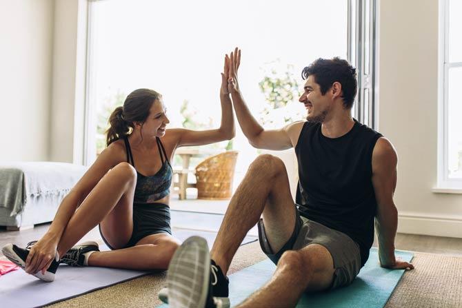 Sport - Wohltat für Beziehungen