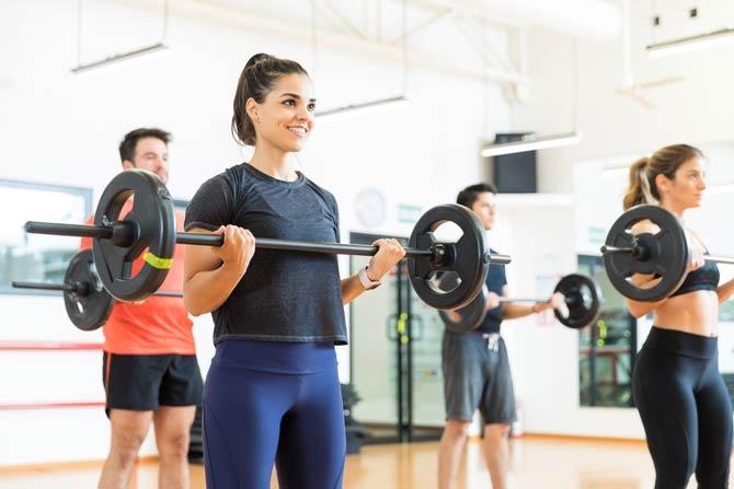 Sportarten Rücken - Kraftsport Kreuzheben