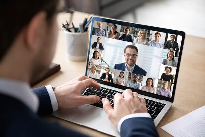 Sprach- und Videokonferenzen stehen derzeit hoch im Kurs