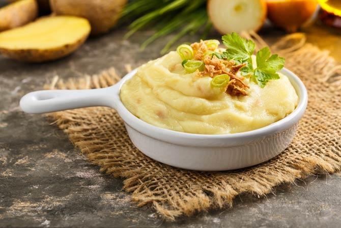 Stampfkartoffeln - Gesunde und schnelle Gerichte