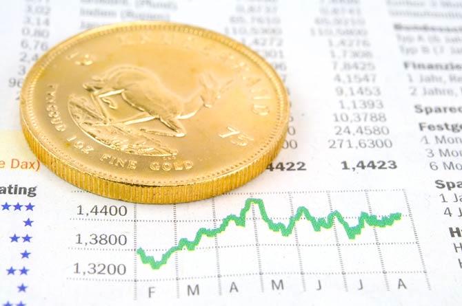 Starken Schwankungen beim Goldpreis