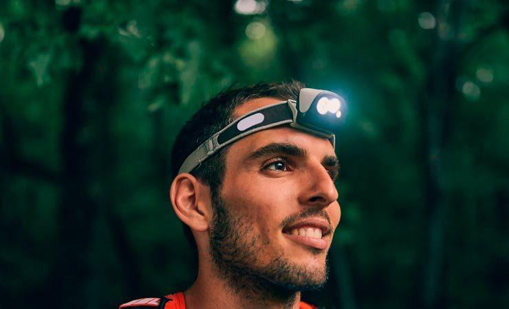 Stirnlampen fürs Jogging
