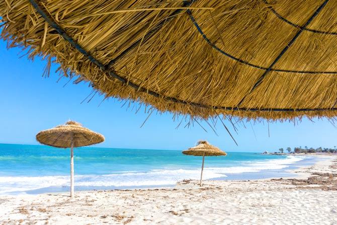 Strand in Djerba