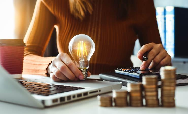 Strom sparen trotz Homeoffice