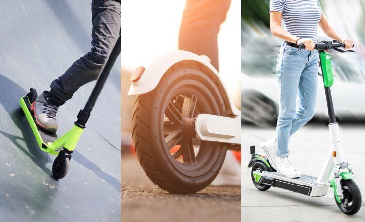 Stunt Scooter, E-Scooter und E-Roller
