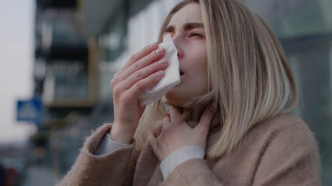 Symptome - Luftverschmutzung