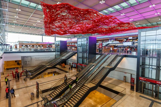 Terminal 1 Flughafen BER
