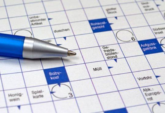 Tipps zum Lösen von Kreuzworträtseln