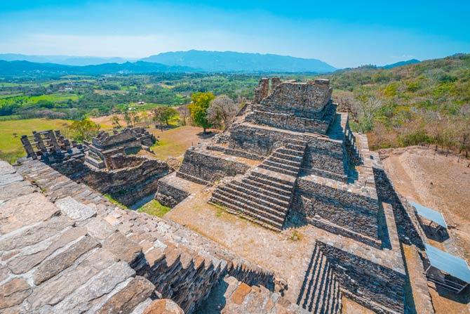 Tonina - Maya Pyramide