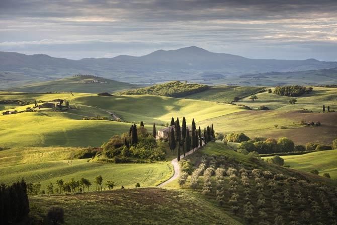 Toscana in Italien