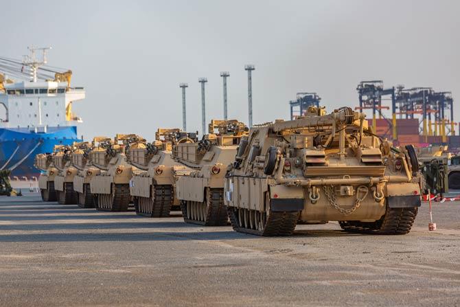 Die USA sind die wichtigsten Waffen- und Rüstungsgüterhändler