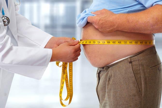 Übergewicht den Kampf ansagen