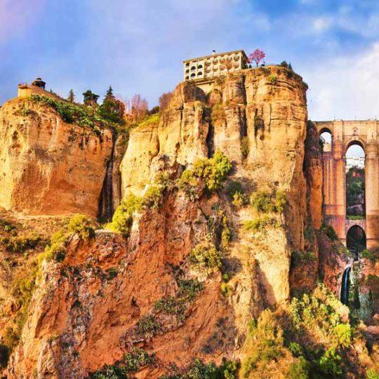 Urlaub in Spanien - Blick auf Ronda