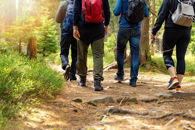 Veränderte Anlässe für Spaziergänge
