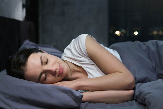 Verbesserung des Schlafes