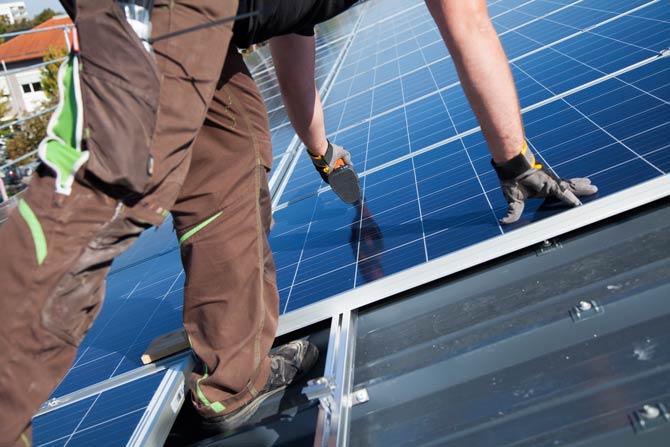 Vermietung Photovoltaikanlagen 800 oder mehr Quadratmeter