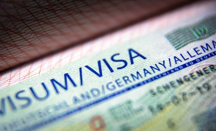 Ein Visum beantragen