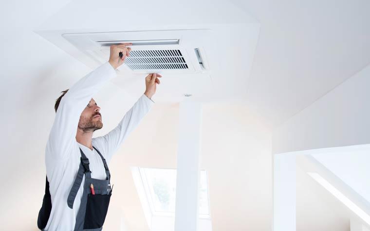 Wartung der Klimaanlage