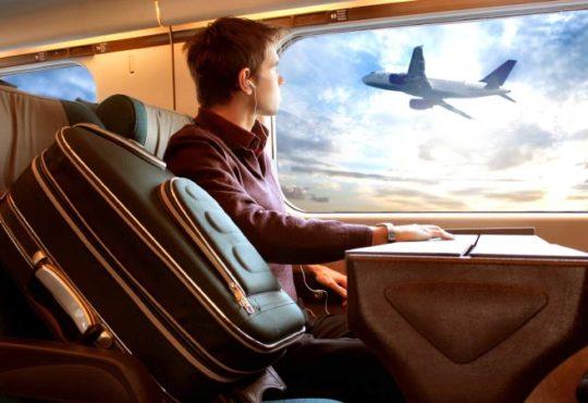 Warum mit dem Zug reisen entspannter ist als Fliegen