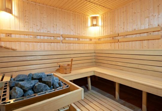 Wellnessose Sauna