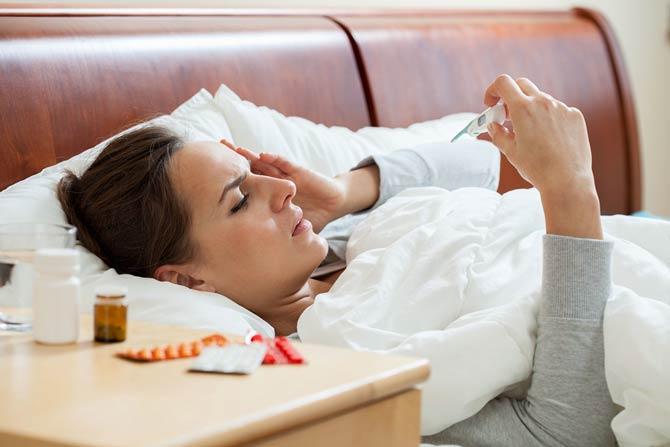 Weniger Influenza Fälle
