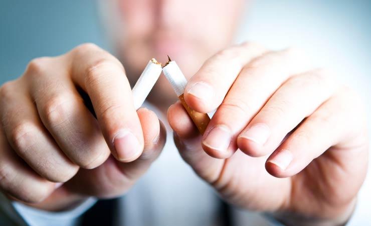 Weniger Zigaretten durch Blick in die Natur