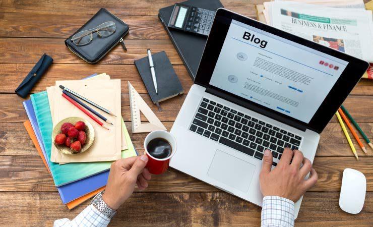 Wie erstelle ich einen Blog