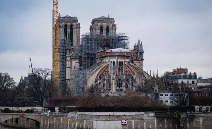 Wiederaufbau von Notre-Dame: Plant Deutschland finanzielle Unterstützung?