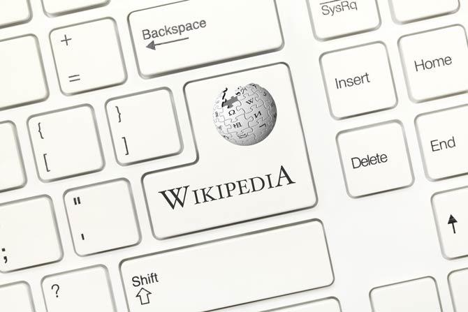 Wikipedia-Inhalte werden von allen erstellt