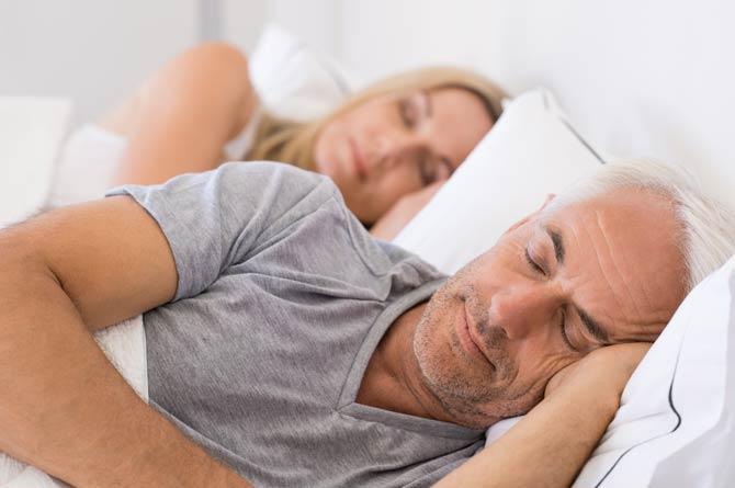 Zusammenhang zwischen Schlafzeit und Stimmung