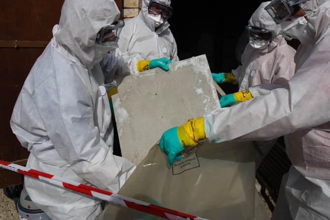 Gesundheitliche Schäden durch asbestbelastete Materialien